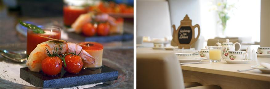 Klein Zwitserland: de verwennerij gaat verder in de keuken met verfijnde gerechten