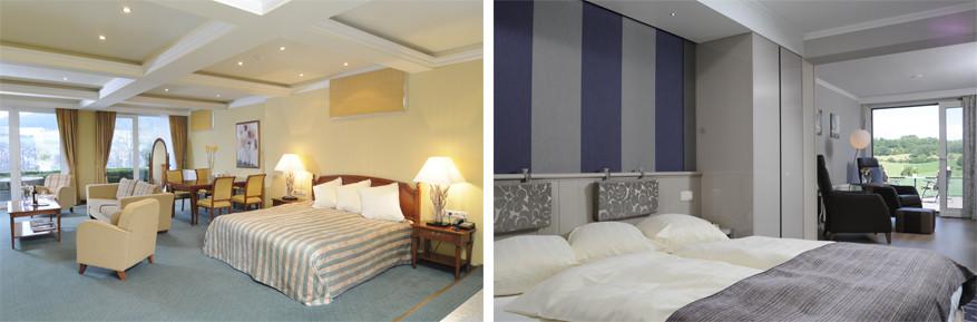 Klein Zwitserland: ruime kamers romantisch en eenvoudig ingericht