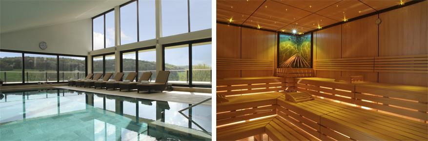 Klein Zwitserland: ontspannen gaat volledig aan het zwembad of in de sauna
