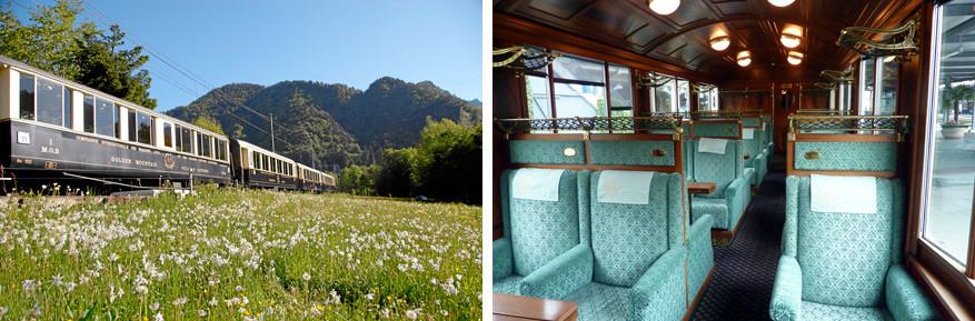 De GoldenPass Classic, een icoon in de treinwereld. © Toerisme Zwitserland | © Bruno Loockx
