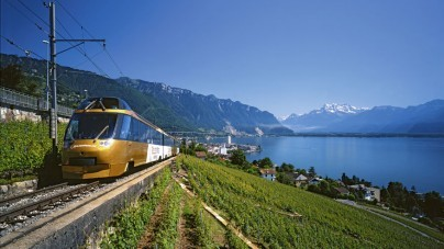 Treinen door Zwitserland: van muzikaal Montreux naar ingetogen Interlaken
