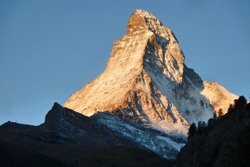 De Matterhorn bij zonsopgang. © Bruno Loockx