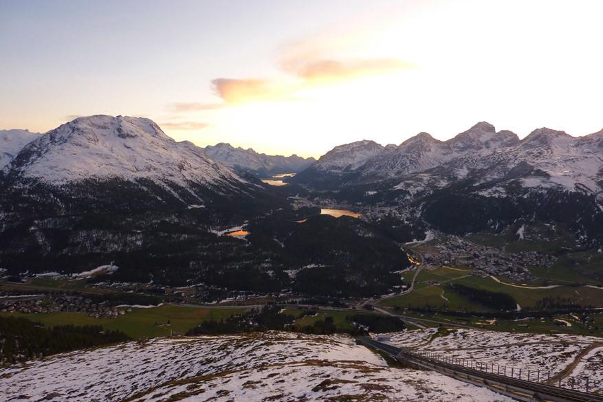 Het uitzicht op de omgeving vanaf het hotel. © Bruno Loockx