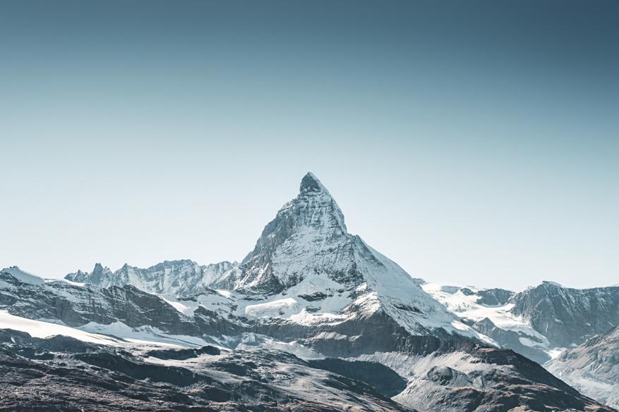 De Matterhorn staat onlosmakelijk verbonden met Zermatt. © Toerisme Zwitserland
