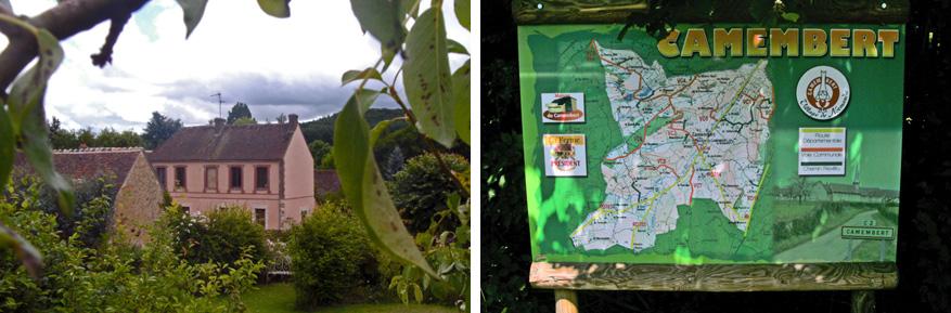De belangrijkste routes laten je de beste plekken zien in Camembert. © Pascal François