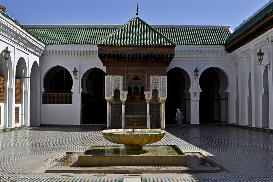 De universiteit Al-Karaouine © Omar Derkaoui