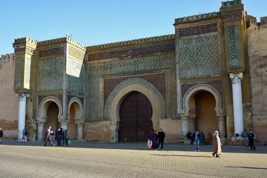 Monumentale poorten maakten van Meknès het Versailles in het Midden-Atlasgebergte.