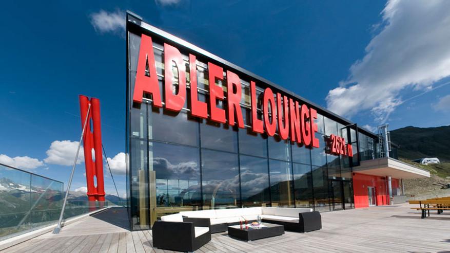 De strakke en luxueuze uitstraling van Adler Lounge © Adler Lounge