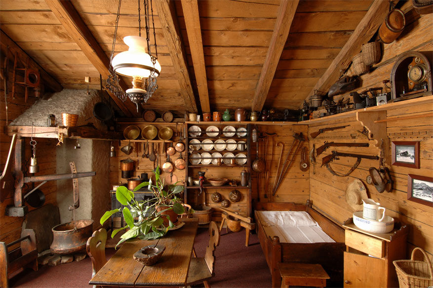 De kaasmakerij fungeert als restaurant en museum