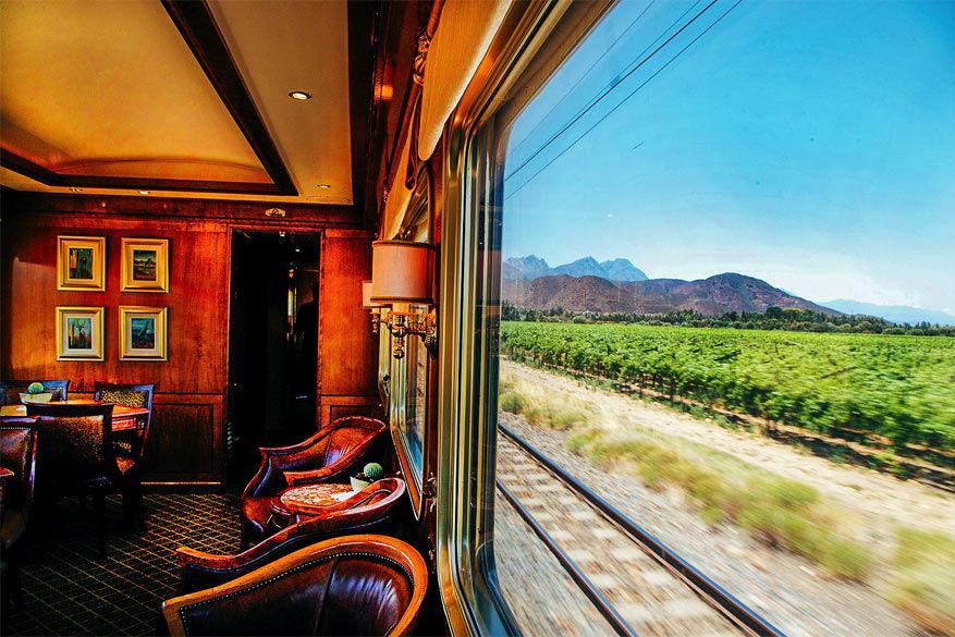 Treinreizen staat gelijk aan reizen in luxe en comfort