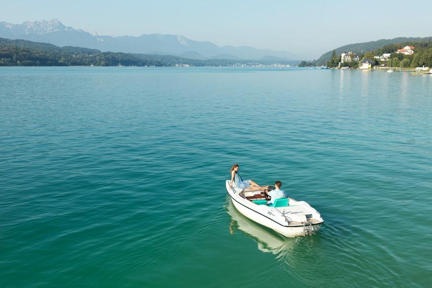 Maak een rustgevende boottocht op een van de 30 meren in Karinthië