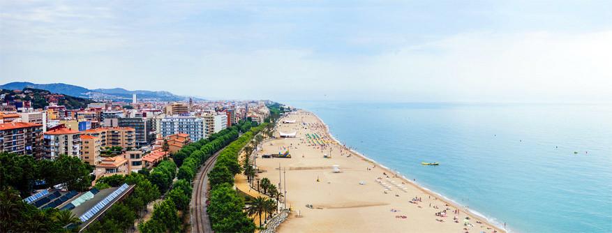 Calella: de kustlijn. © Urban_outdoor