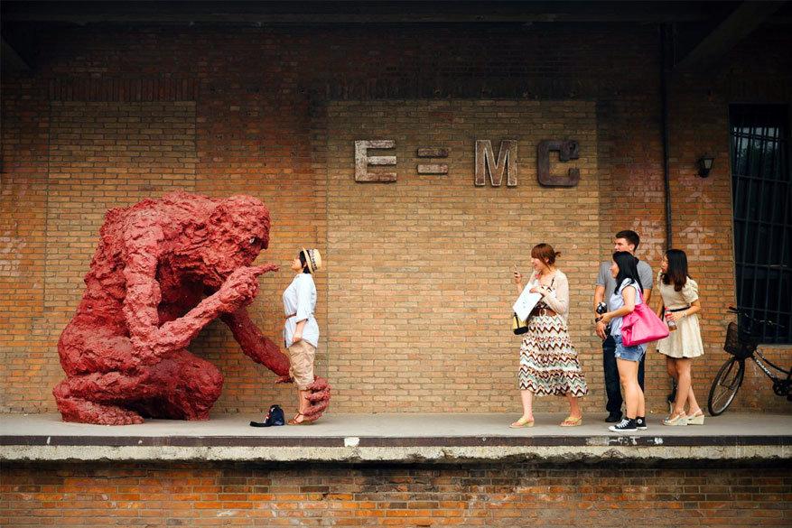 Dwars door China: het kunstdistrict in de hoofdstad