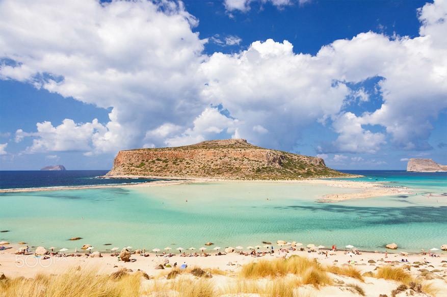 Het strand van Balos