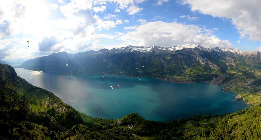 Het meer van Brienz. © Interlaken Tourismus / Bruno Petroni