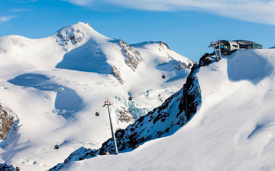 De Wildspitzbahn © Pitztaler Gletscher