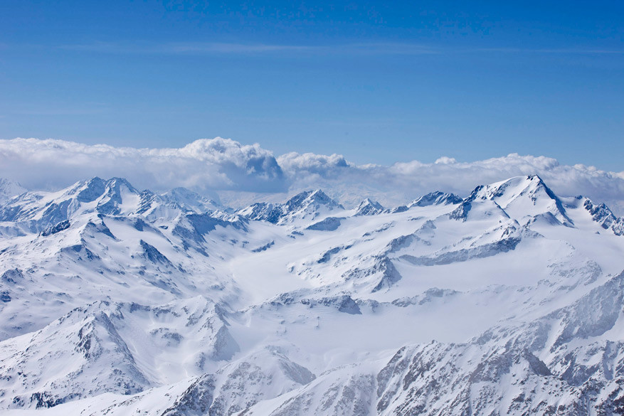 De Pitztaler Gletscher biedt schitterende uitzichten! © Tiroler Werbung