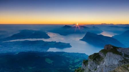 Een dag bij Rigi, de koningin van de Zwitserse bergen