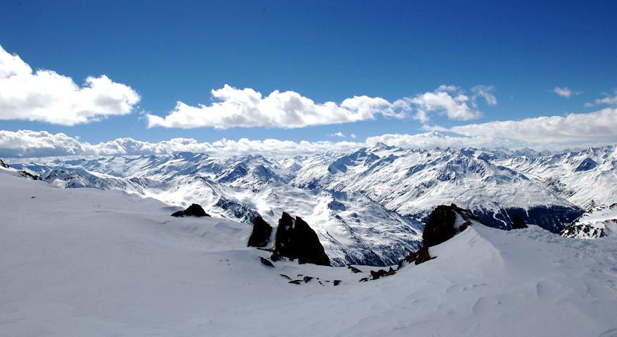 Onderweg even op adem komen en van het uitzicht genieten!