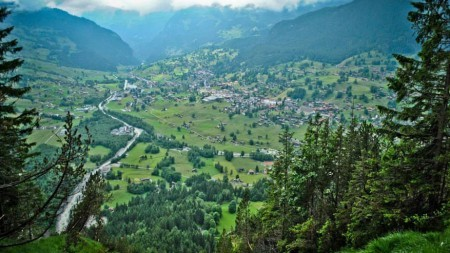 Adembenemend zweven boven Grindelwald