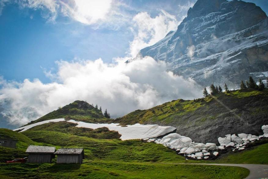 Op ontdekking in de schaduw van de Jungfrau