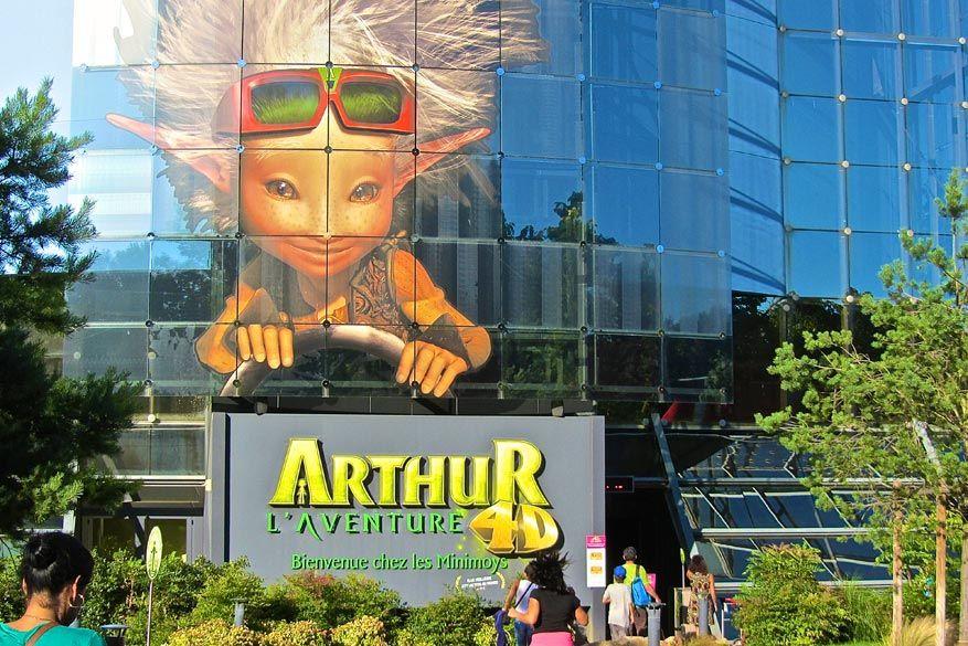 De attractie 'Arthur, avontuur in 4D' viel al in de prijzen.