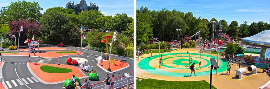 Het park is milieuvriendelijk en bezorgt kinderen de tijd van hun leven!