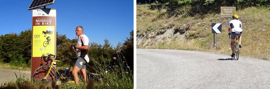 Sportievelingen wagen zich aan de Mugello in Bike, inclusief onze Reisreporter Marc.