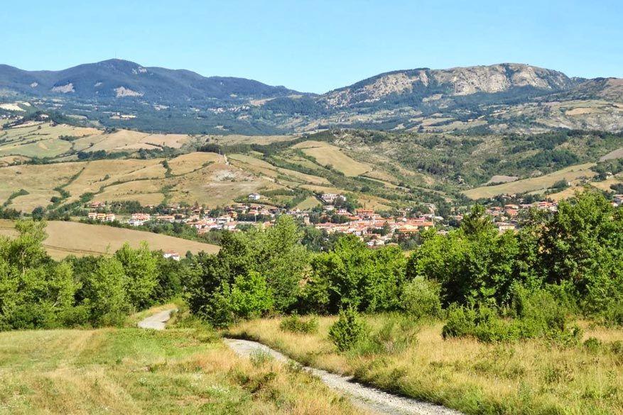 Mugello omringd door een prachtig Toscaans landschap.