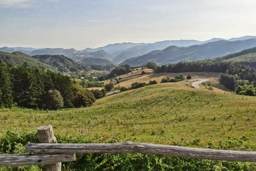 In het kielzog van de wielerkampioenen in Toscane