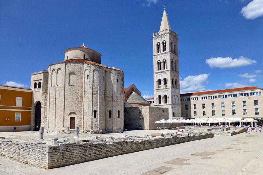 De Sveti Donatkerk van Zadar.
