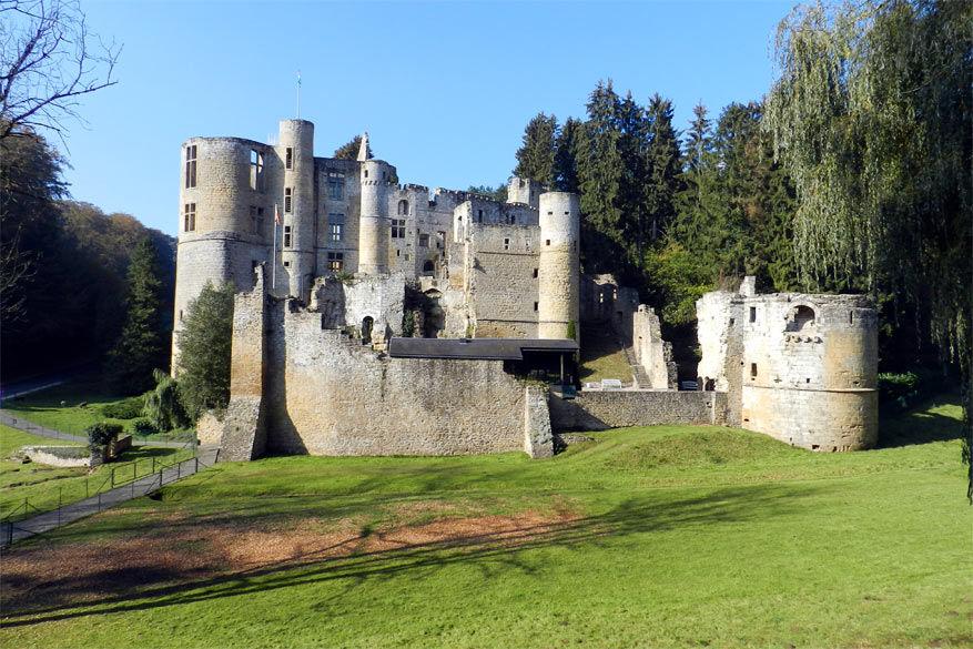 LUX-kasteel-Beaufort. © Groen en doenvakantie