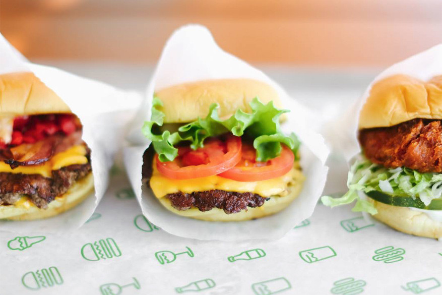 De hamburgers van Shake Shack © Shake Shack