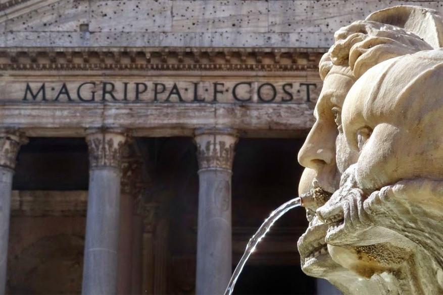 Wandelen in Rome: het Pantheon