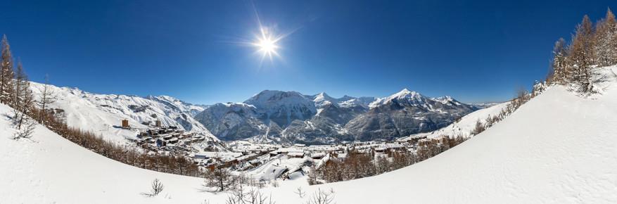 Het skigebied Orcières © Toerisme Orcières / B. Bodin