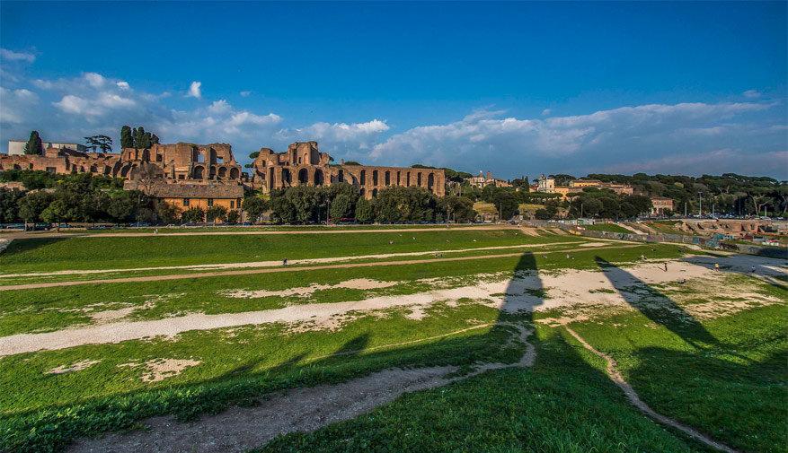 Wandelen in Rome: Circus Maximus