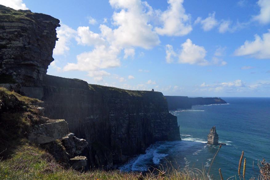 De indrukwekkende Cliffs of Moher dagen uit!