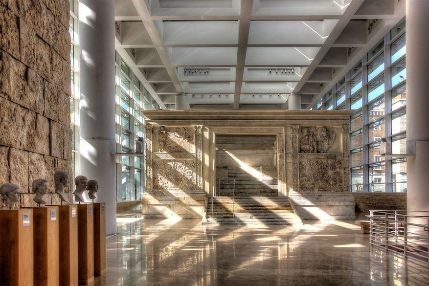 Wandelen in Rome: Ara Pacis