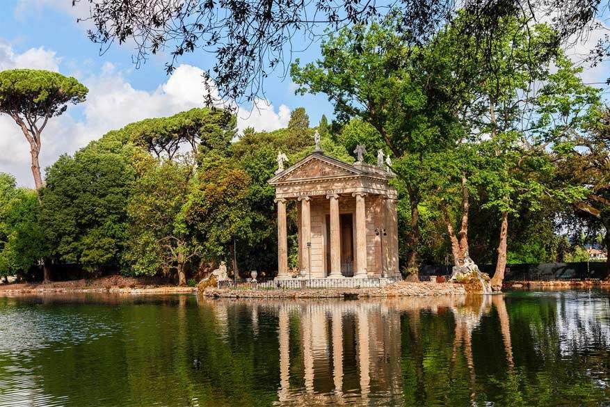 Wandelen in Rome: Villa Borghese