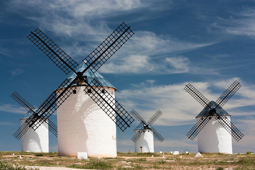 Los Molinos van Don Quichot. © Peter Pribylinec