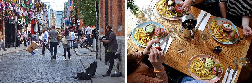 Dublin: sfeer en lekker eten in de gezellige wijk Temple Bar