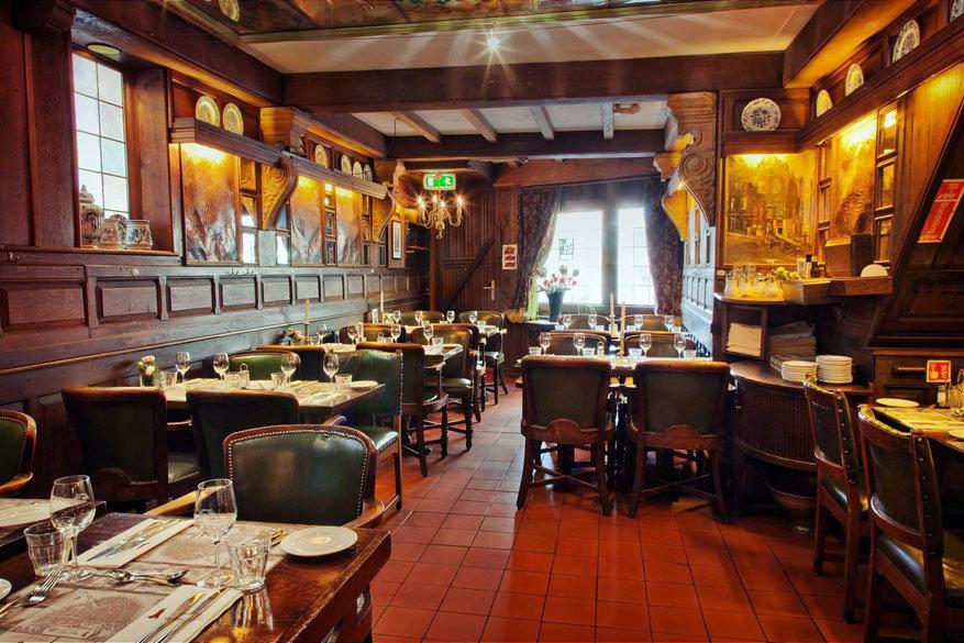 Amsterdam: restaurant Haesje Claes