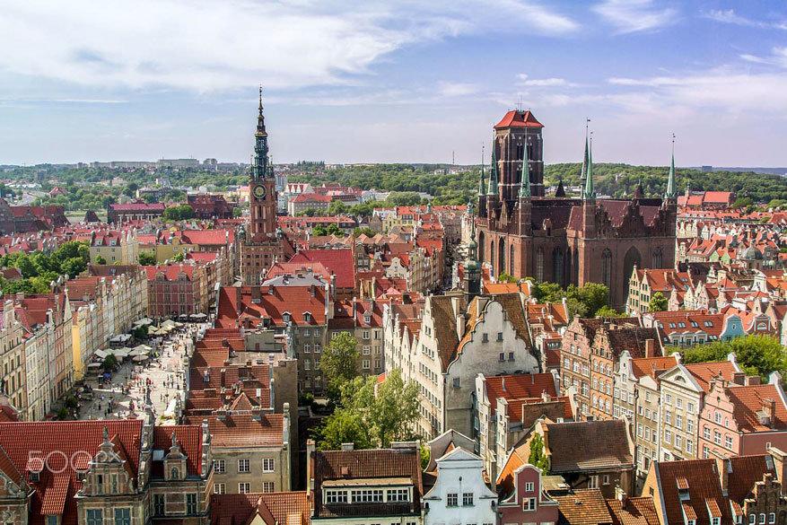 Gdańsk: het oude stadsgedeelte