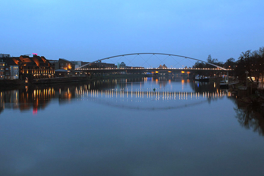 Maastricht: de Hoge Brug