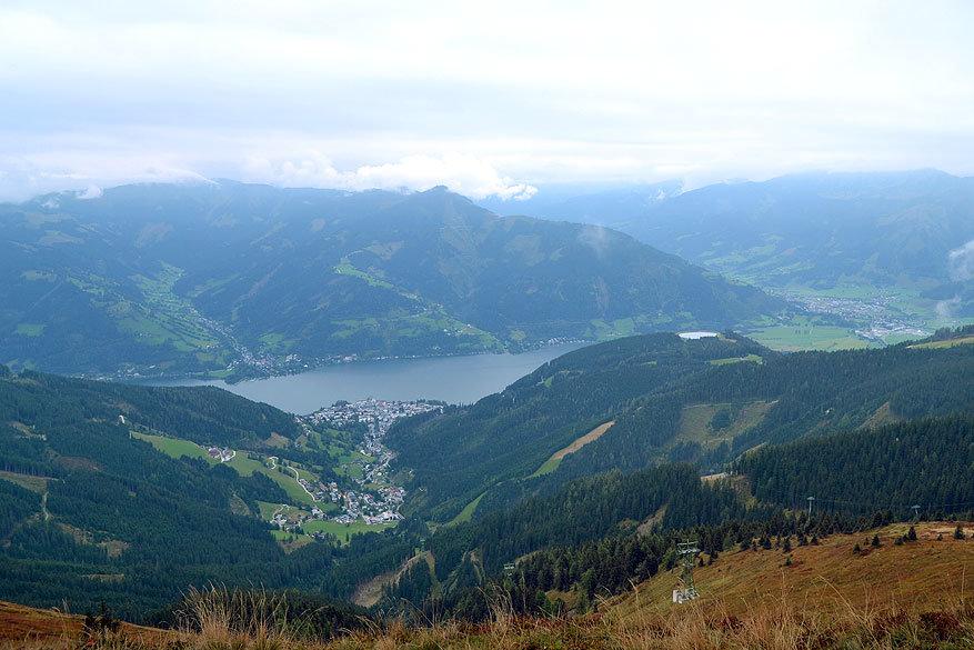 Salzburgerland: uitzicht op Zell am See