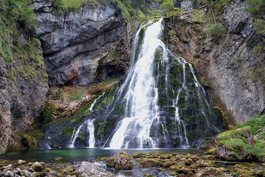 Salzburgerland: Gollinger Wasserfall