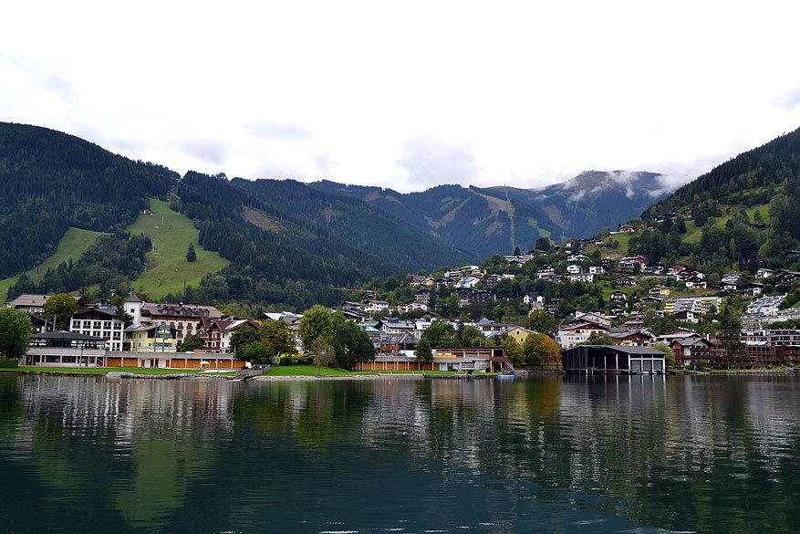 Salzburgerland: een boottocht op het meer van Zell am See