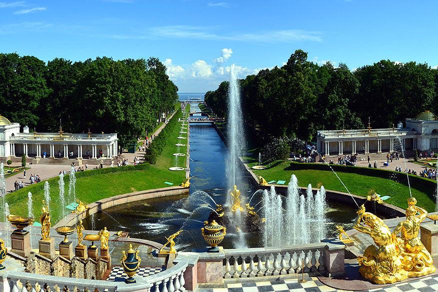 Sint-Petersburg: Peterhof