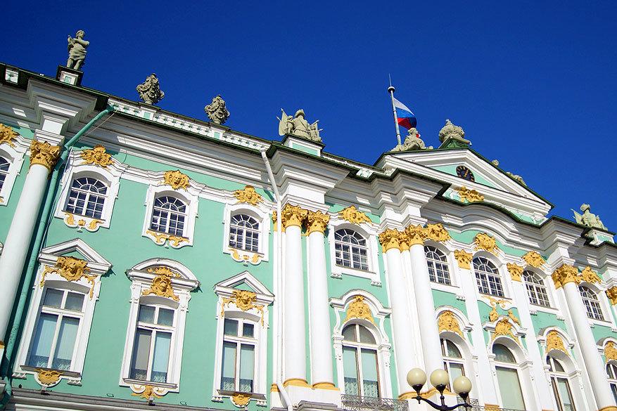 Sint-Petersburg: cultuur- en kunstmuseum Hermitage