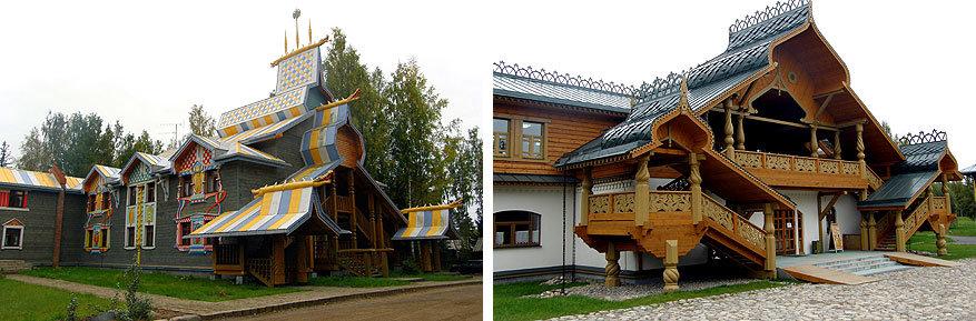 Volga Dream: een hotel en een restaurant in Mandrogi